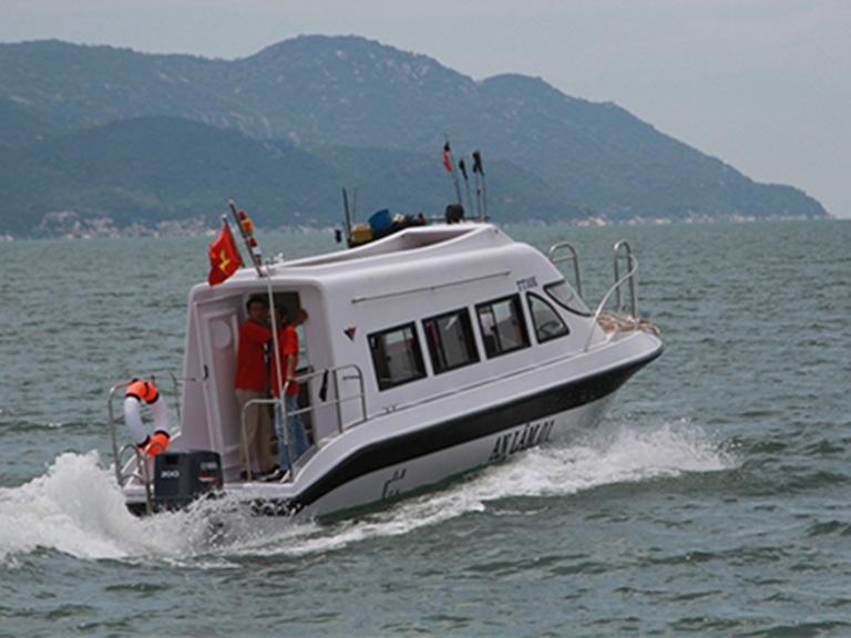 Hạ thủy tàu du lịch theo công nghệ Na Uy