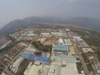 Khu công nghiệp Suối Dầu nhìn từ trên cao