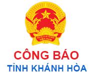 Công báo Khánh Hòa