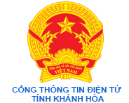 Cổng thông tin điện tử tỉnh Khánh Hòa